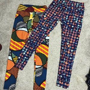 Two really fun leggings!